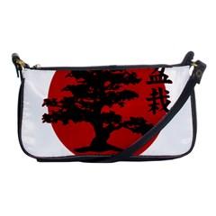 Bonsai Shoulder Clutch Bags by Valentinaart