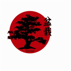 Bonsai Small Garden Flag (two Sides) by Valentinaart