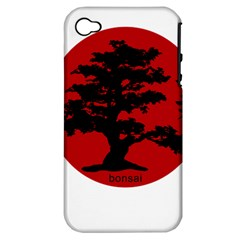 Bonsai Apple Iphone 4/4s Hardshell Case (pc+silicone) by Valentinaart