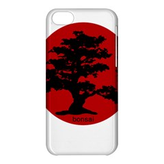 Bonsai Apple Iphone 5c Hardshell Case by Valentinaart