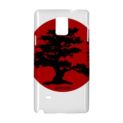 Bonsai Samsung Galaxy Note 4 Hardshell Case by Valentinaart
