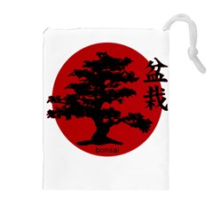 Bonsai Drawstring Pouches (extra Large) by Valentinaart