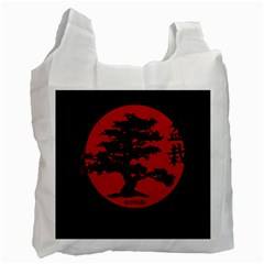 Bonsai Recycle Bag (one Side) by Valentinaart