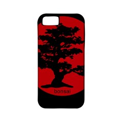 Bonsai Apple Iphone 5 Classic Hardshell Case (pc+silicone) by Valentinaart
