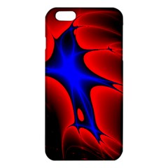 Space Red Blue Black Line Light Iphone 6 Plus/6s Plus Tpu Case by Mariart