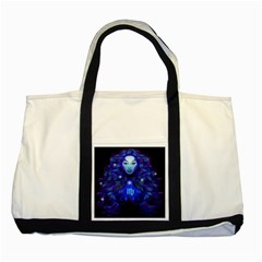 Sign Virgo Zodiac Two Tone Tote Bag by Mariart