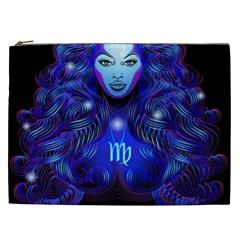 Sign Virgo Zodiac Cosmetic Bag (xxl)  by Mariart