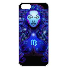 Sign Virgo Zodiac Apple Iphone 5 Seamless Case (white) by Mariart