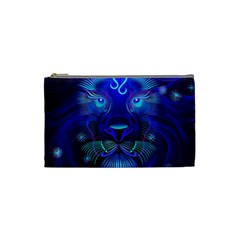 Sign Leo Zodiac Cosmetic Bag (small)  by Mariart