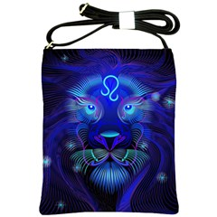 Sign Leo Zodiac Shoulder Sling Bags by Mariart