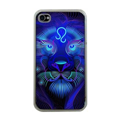 Sign Leo Zodiac Apple Iphone 4 Case (clear) by Mariart