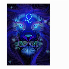 Sign Leo Zodiac Small Garden Flag (two Sides) by Mariart