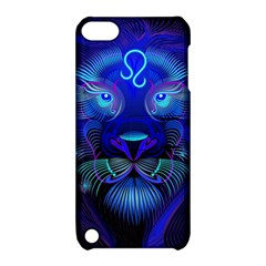 Sign Leo Zodiac Apple Ipod Touch 5 Hardshell Case With Stand by Mariart