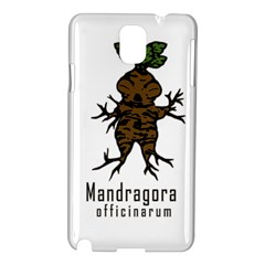 Mandrake Plant Samsung Galaxy Note 3 N9005 Hardshell Case by Valentinaart