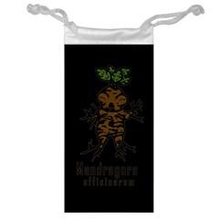 Mandrake Plant Jewelry Bag by Valentinaart