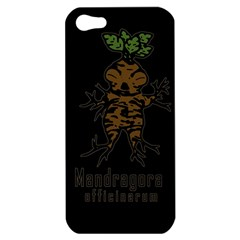 Mandrake Plant Apple Iphone 5 Hardshell Case by Valentinaart