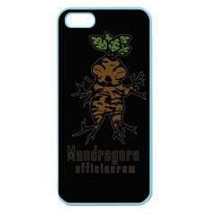 Mandrake Plant Apple Seamless Iphone 5 Case (color) by Valentinaart