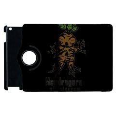 Mandrake Plant Apple Ipad 2 Flip 360 Case by Valentinaart