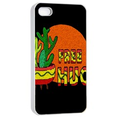 Cactus   Free Hugs Apple Iphone 4/4s Seamless Case (white) by Valentinaart