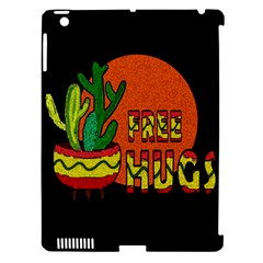 Cactus   Free Hugs Apple Ipad 3/4 Hardshell Case (compatible With Smart Cover) by Valentinaart