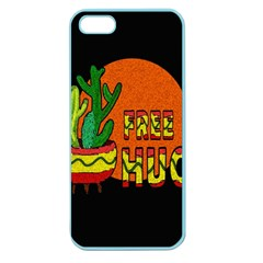 Cactus   Free Hugs Apple Seamless Iphone 5 Case (color) by Valentinaart
