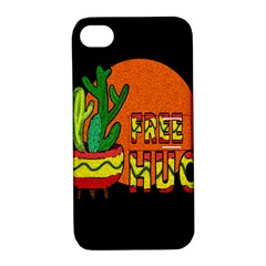 Cactus   Free Hugs Apple Iphone 4/4s Hardshell Case With Stand by Valentinaart