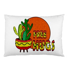 Cactus   Free Hugs Pillow Case (two Sides) by Valentinaart