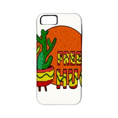Cactus   Free Hugs Apple Iphone 5 Classic Hardshell Case (pc+silicone) by Valentinaart