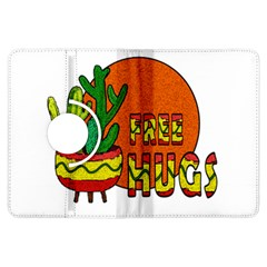 Cactus   Free Hugs Kindle Fire Hdx Flip 360 Case by Valentinaart