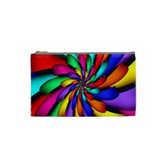 Star Flower Color Rainbow Cosmetic Bag (small)  by Mariart