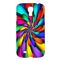Star Flower Color Rainbow Samsung Galaxy S4 I9500/i9505 Hardshell Case by Mariart