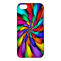 Star Flower Color Rainbow Apple Iphone 5c Hardshell Case by Mariart