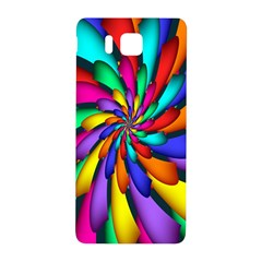 Star Flower Color Rainbow Samsung Galaxy Alpha Hardshell Back Case by Mariart