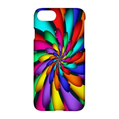 Star Flower Color Rainbow Apple Iphone 7 Hardshell Case by Mariart