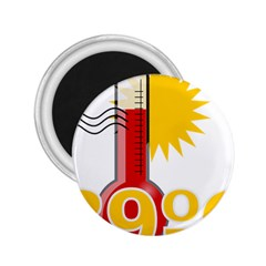 Thermometer Themperature Hot Sun 2 25  Magnets by Mariart