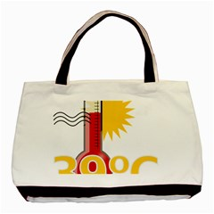 Thermometer Themperature Hot Sun Basic Tote Bag by Mariart