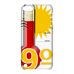 Thermometer Themperature Hot Sun Apple Ipod Touch 5 Hardshell Case With Stand by Mariart