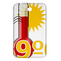 Thermometer Themperature Hot Sun Samsung Galaxy Tab 3 (7 ) P3200 Hardshell Case  by Mariart
