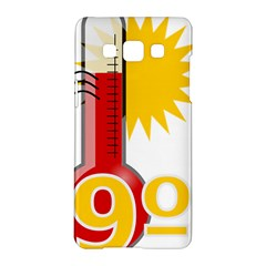 Thermometer Themperature Hot Sun Samsung Galaxy A5 Hardshell Case  by Mariart