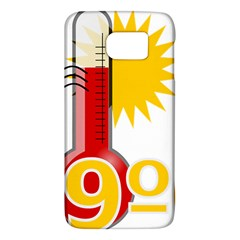 Thermometer Themperature Hot Sun Galaxy S6 by Mariart