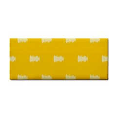 Waveform Disco Wahlin Retina White Yellow Cosmetic Storage Cases by Mariart