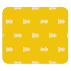 Waveform Disco Wahlin Retina White Yellow Double Sided Flano Blanket (small)  by Mariart