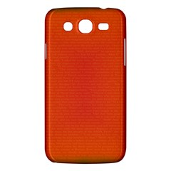 Scarlet Pimpernel Writing Orange Green Samsung Galaxy Mega 5 8 I9152 Hardshell Case  by Mariart