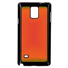 Scarlet Pimpernel Writing Orange Green Samsung Galaxy Note 4 Case (black) by Mariart