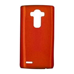 Scarlet Pimpernel Writing Orange Green Lg G4 Hardshell Case by Mariart
