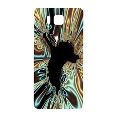 Silver Gold Hole Black Space Samsung Galaxy Alpha Hardshell Back Case by Mariart