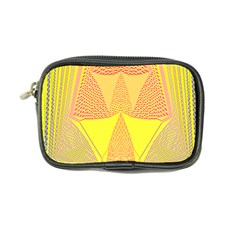 Wave Chevron Plaid Circle Polka Line Light Yellow Red Blue Triangle Coin Purse by Mariart