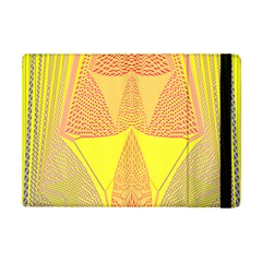 Wave Chevron Plaid Circle Polka Line Light Yellow Red Blue Triangle Ipad Mini 2 Flip Cases by Mariart