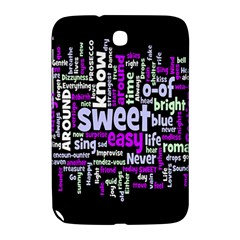 Writing Color Rainbow Sweer Love Samsung Galaxy Note 8 0 N5100 Hardshell Case  by Mariart