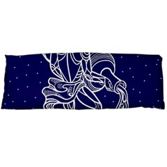 Aquarius Zodiac Star Body Pillow Case (dakimakura) by Mariart